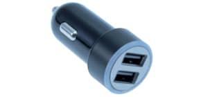 Ladegerät Smartphone sw MEDIARANGE MRMA103-02 Kfz USB Produktbild