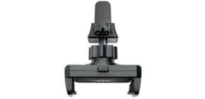 Smartphone-Halter Clip-it schwarz WEDO 60 06101/60 05101 zum Klemmen Produktbild
