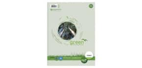 Collegeblock A4 80BL liniert URSUS 608571010 Green Pure 60g Produktbild