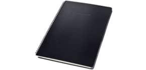 Collegeblock ca. A4 liniert schwarz CONCEPTUM CO841 mit Reg. Hardcover Produktbild