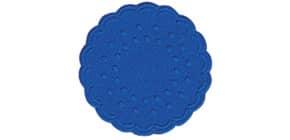 Tassenuntersetzer orien.blau DUNI 351881 Zellt. D7,5cm 25ST Produktbild