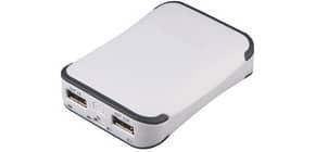 Ladegerät Powerbank 6.600mAh MEDIARANGE MR742 Dual USB Produktbild