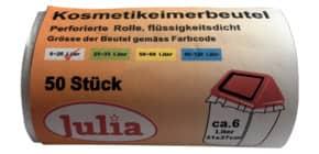 Müllsack 50 Stück 9l natur NEOTEN A52081 31x37cm Produktbild