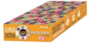 Zuckerstick Cubus 1056 Stück HELLMA 60115061 Süße Päckchen Produktbild
