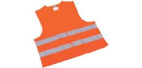 Pannen-Warnweste orange LEINA 13100/235002 DIN EN 471 Produktbild