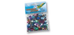 Schmucksteine eckig u. rund FOLIA 1240 Gr.+Farb sort 800ST Produktbild