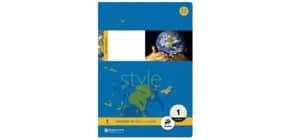 Heft A4 16BL Lin1 STAUFEN STYLE 040416001 80g Produktbild
