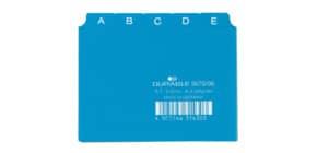 Leitregister A7 blau DURABLE 3670 06 Produktbild