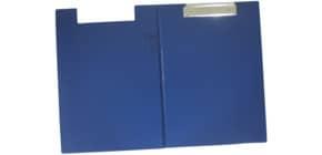 Klemmbrettmappe A4 blau Q-CONNECT KF01301 PVC Produktbild