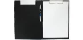 Klemmbrettmappe A4 schwarz Q-CONNECT KF01300 PVC Produktbild