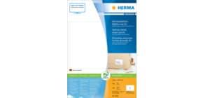 Adressetiketten Premium 148,5x205 mm ws HERMA 8690 A5 400 Stück permanent Produktbild