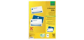 Visitenkarte A4 100 Stück beids. weiß SIGEL LP853 3C 250g 10 Blatt Produktbild