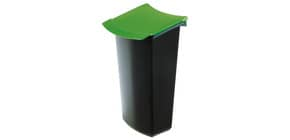 Papierk.Abfalleinsatz schwarz/grün HAN 1843-05 3l Mondo Produktbild