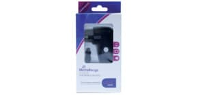 Ladegerät Smartphone schwarz MEDIA RANGE MRMA102 Reise Produktbild