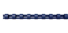 Spiralbinderücken 100ST blau Q-CONNECT 5345106 6mm Produktbild