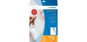 Fotokarton A4 Pergamin 10ST weiss HERMA 7571 Produktbild