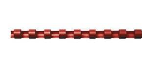 Spiralbinderücken 100ST rot Q-CONNECT 5345204 6mm Produktbild