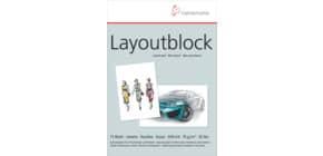 Layout Block A4 75g HAHNEMÜHLE 10625040g Produktbild