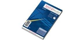 Briefhülle C6 selbstklebend 72g weiß ELEPA 30002358 25 Stück , Innendruck Produktbild