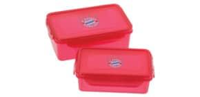 Brotzeitdosen 2er-Set rot Logo FCBAYERN 24594 Produktbild