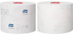 Toilettenpapier 2-lagig hochweiß TORK 127500 /127530, 27 Rollen Produktbild