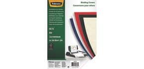 Einbanddeckel Leder A4 rot FELLOWES FW5370305 100ST 250g Produktbild