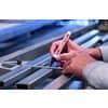 Lackmalstift hellblau EDDING 4-750010  2-4mm Produktbild Anwendungsdarstellung 1 S