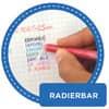 Tintenroller Frixion Ball 0,5mm blau PILOT BL-FR10-L 2258003 Produktbild Piktogramm 1 S